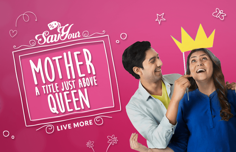 Make your mum feel special with SavYour's Exclusive Mother's Day Deals!